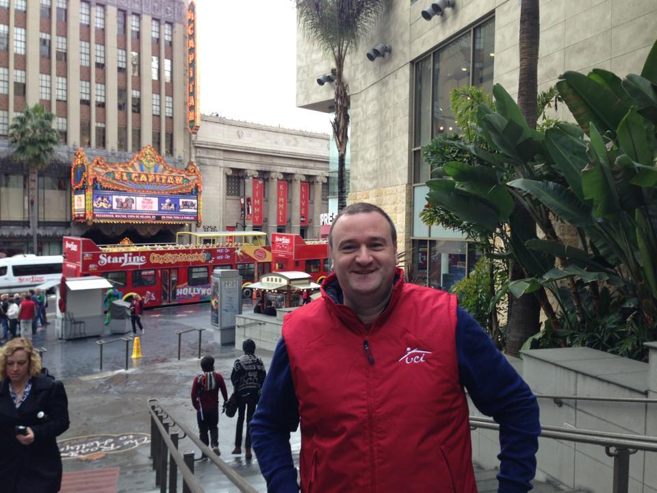 Fernando Vega Hernández en Los Ángeles